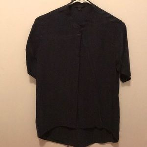 COS button down blouse